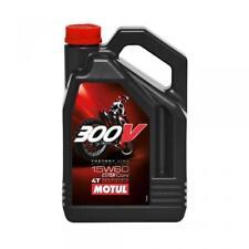 Bidon d'huile moteur Motul deux roues moto enduro cross 300V 15W60 4T en 4L Neuf