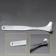 Silver Color Removes Bad Breath Tongue Coating Tongue Scraper Oral Care Tool LD