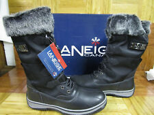 """LANEIGE Canada By Pajar Women's """"Maddie"""" Winter Boots Black EU Size 40"""