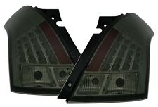 EAGLE EYES LED REAR TAIL LIGHT SET in SMOKE for SUZUKI SWIFT from 2005-