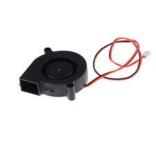 DC 12V 50mm Cooling Fan Blow Radial Hotend / Extruder For RepRap 3D Printer Pv