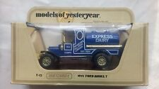 MATCHBOX MODELS OF YESTERYEAR EXPRESS DAIRY.FORD MODEL T.1:35 SCALE.1978.NEW BOX