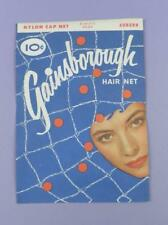 Vintage Unused Hair Net - Gainsborough Elastic Edge - Auburn