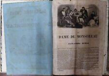 La dame de monsoreau - Dumas - Frères 1855