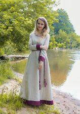 Medieval dress Linen dress, 100% linen, underdress, viking costume saxon kirtle