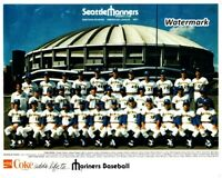 MLB 1977 Seattle Mariners 1st Season Franchise History Team Picture 8 X 10 Photo