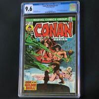 Conan the Barbarian #37 🔥 CGC 9.6 White 🔥 Neal Adams Cover! Marvel Comic 1974