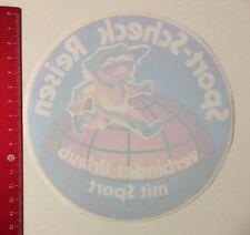 Aufkleber/Sticker: Sport-Scheck Reisen Verbindet Urlaub Mit Sport (06051619)