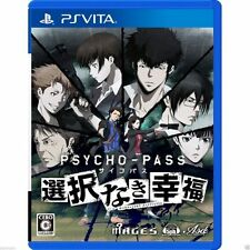 Psycho-Pass: Sentaku Naki Koufuku PS Vita SONY JAPANESE NEW JAPANZON