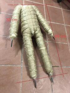 Corpo In Stoppa Canapa Filo Di Ferro Snodabile  Sacre Figure Presepe 65 Cm