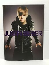 Justin Bieber 2010 My World Concert Tour Book Program