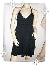 Vestido De fantasía Espalda desnuda Negra con Vuelo Kaporal 5 Talla S