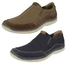 Zapatos informales de hombre textiles Clarks