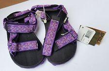 New Teva Girls Kids Adjust Strap Sandals Purple Pink Inversion 10 9 27 6219 Wate