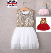 9637d814f22 Christmas Sequin Dresses for Girls 2-16 Years for sale | eBay