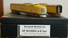 Overland Brass Union Pacific UP HO Scale M10005 A-B Set Locomotives