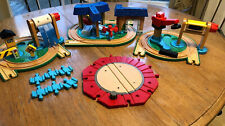Thomas Train Learning Curve Playsets Lot 4 Wash Station Coal Loader Wood Track