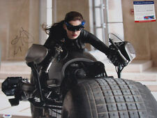 ANNE HATHAWAY Batman Hand Signed HUGE 16'x20' Photo + PSA DNA