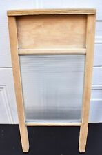 Vintage Washboard Glass Lingerie Washboard