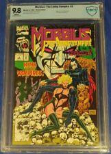 Morbius: The Living Vampire #9 CBCS 9.8 white pages Nightmare app not cgc