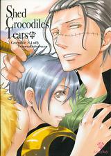 One Piece YAOI Doujinshi Comic Teionyakedo (Secco) Crocodile x Luffy Shed Tears1