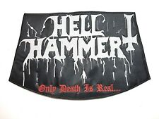 HELL HAMMER ( only death is real.. )    EMBROIDERED BACK PATCH