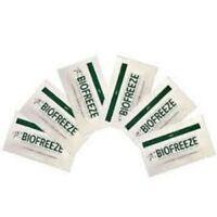 Biofreeze 3 gram Travel Sample Packets of (24) New 3 Gram Packets