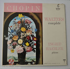 INGRID HAEBLER: Chopin Waltzes Complete LP Record - Yorkshire