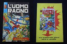 **L'UOMO RAGNO*** ED. CORNO N. 146 (1975)