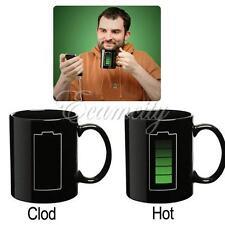 Color-Changing Mug Magic Battery Coffee Heat Cold/Hot Temperature Sensitive Cup
