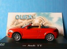 AUDI TT OPEN TOP RED OLIEX 1/43 ROT ROUGE RED CABRIOLET ROADSTER CARARAMA ROSSO