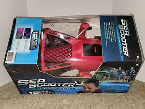 Action Wheels 12 Volt Sea Scooter Underwater Propulsion System Pool Toy Pink NEW