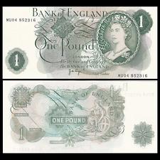 UK Great Britain 1 Pound, 1970-1977, P-374g  UNC