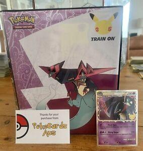Pokemon Celebrations Dragapult 4 Card Pocket Binder & Dragapult SWSH132 Promo!!