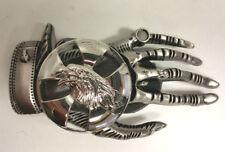 Mano de esqueleto sólido Biker Hebilla de cinturón-Motocicletas-Bicicletas-ornamento - triciclos-Gótico