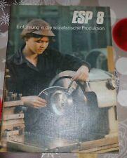 DDR + Schulbuch + ESP / Einführung in die sozialistische Produktion    Klasse 8