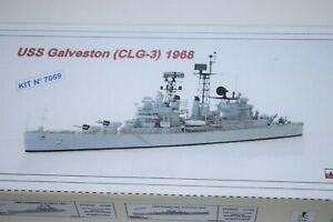 1/700 Niko Model USS Galveston (CLG-3) 1965 Resin Kit #7059