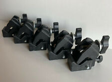 Lot of 5 Manfrotto Super Clamps Art 035 In Black
