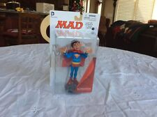 DC Collectibles Mad Alfred E. Neuman as Superman Action figure, Brand New