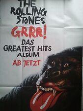 ROLLING STONES   ALBUM  orig.Poster 168 x 118 cm, SONDERGRÖSSE FOLDET