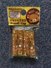 Rilakkuma Sanrio San-X Pencil Cap Lazy Bear Korean Japanese Stationery