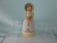 Vintage Avon Bell Country Porcelain 1985 Girl in Bonnet Fancy Dress Excellent