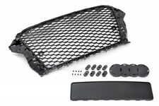 Audi A3/S3 8V 12-16 Badgeless Mesh Grill Debadged Sport Front Grill S Line RS