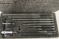 Starrett 124bz Solid Inside Micrometer Set 2 12 Range 001 Graduation