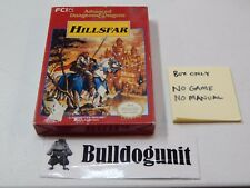 Authentic Advanced Dungeons & Dragons Hillsfar Box Only NES Nintendo NO GAME