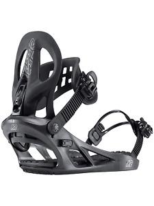 K2 Snowboard Bindung, Snowboardbindung MACH Gr: M / 36,5 bis 42  black