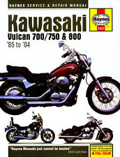 Kawasaki Vulcan VN700, VN750 & VN800 1985 - 2004 Haynes Manual 2457 NEW
