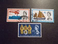 GB 1963 Commemorative Stamps~Lifeboat~Fine Used Set~UK Seller