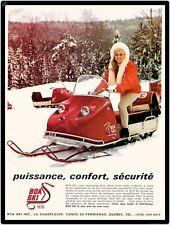"""1970 BOA SKI SNOWMOBILE 9"""" x 12"""" Sign"""