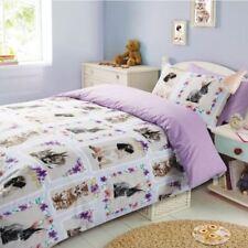 Linge de lit et ensembles Noël en polyester avec des motifs Carreaux